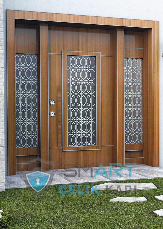 Villa Giriş Kapısı Kompozit Kaplama Prada