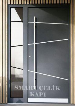Villa Giriş Kapısı Kompozit Kaplama SVK016