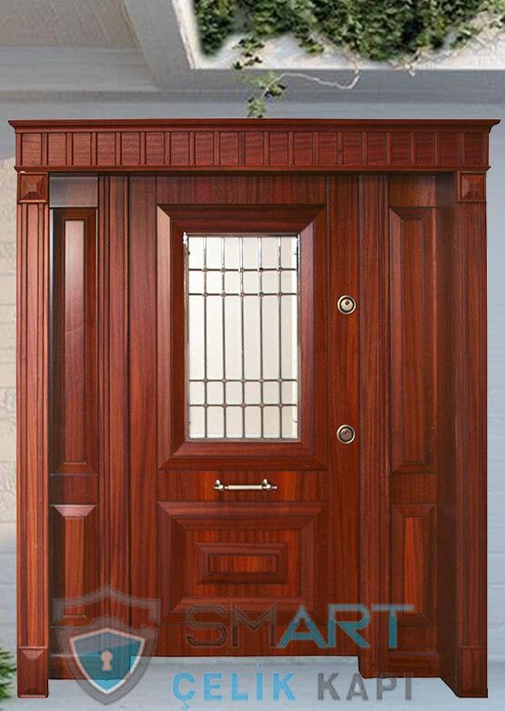 Yağmura Dayanıklı Marin Kaplama Villa Giriş Kapısı Carya