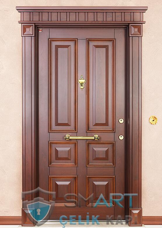 Kabartmalı Lüks Çelik Kapı King