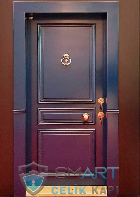 Klasik Çelik Kapı Kabartmalı Lüks Gracia