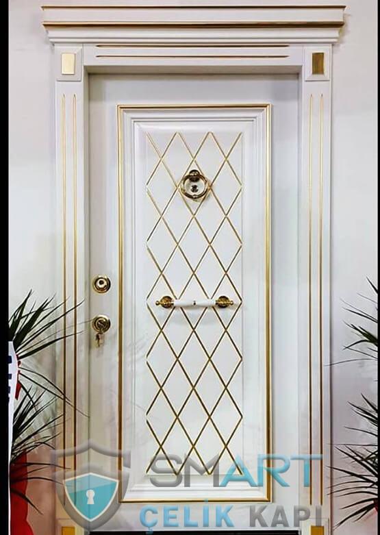 Çelik Kapı Kabartmalı Lüks Eldora