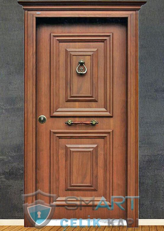 Klasik Çelik Kapı Kabartmalı Lüks Jade