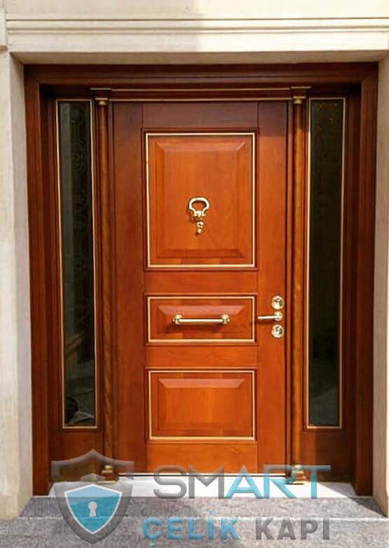 Villa Kapısı Dış Mekan Çelik Kapı Ölçüye Özel Üretim VK-010