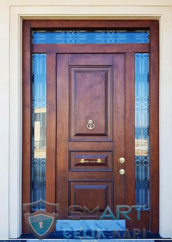 Villa Kapısı Dış Mekan Çelik Kapı Ölçüye Özel Üretim VK-020