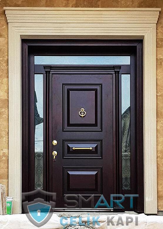 Villa Kapısı Dış Mekan Çelik Kapı Ölçüye Özel Üretim VK-030